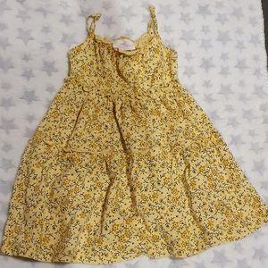 Size 2 Mango yellow dress